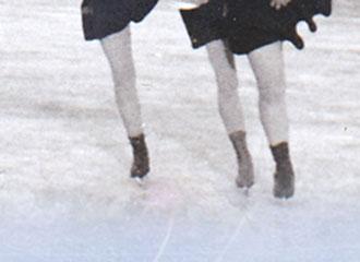 Eislaufen am Fischbach - F.M. Hämmerle